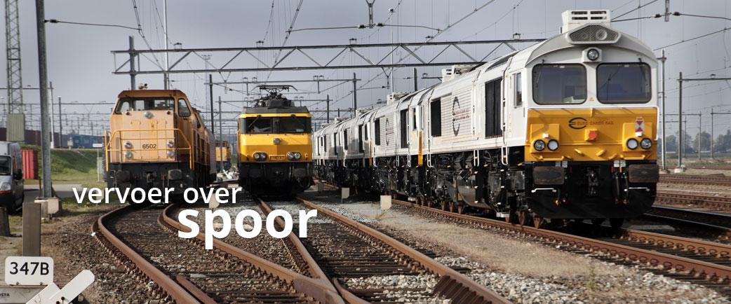 port of utrecht - vervoer over spoor