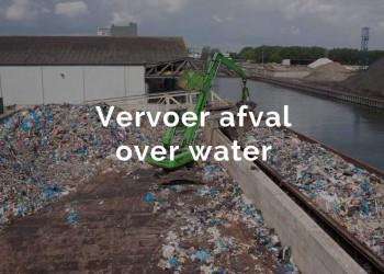 vervoer afval over water